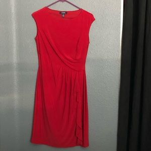 Chaps Red Dress